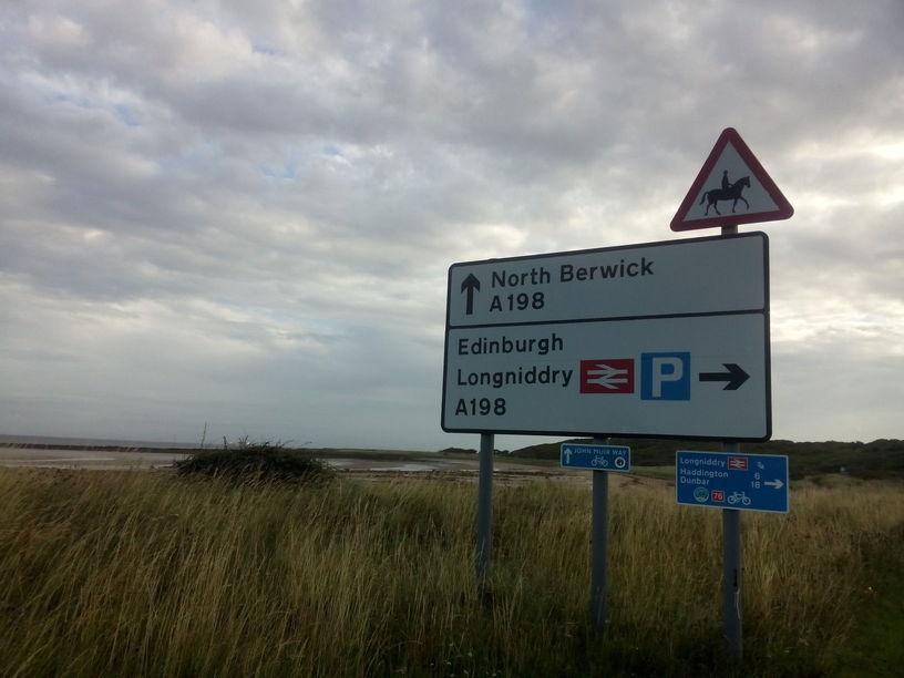 North Berwick this way