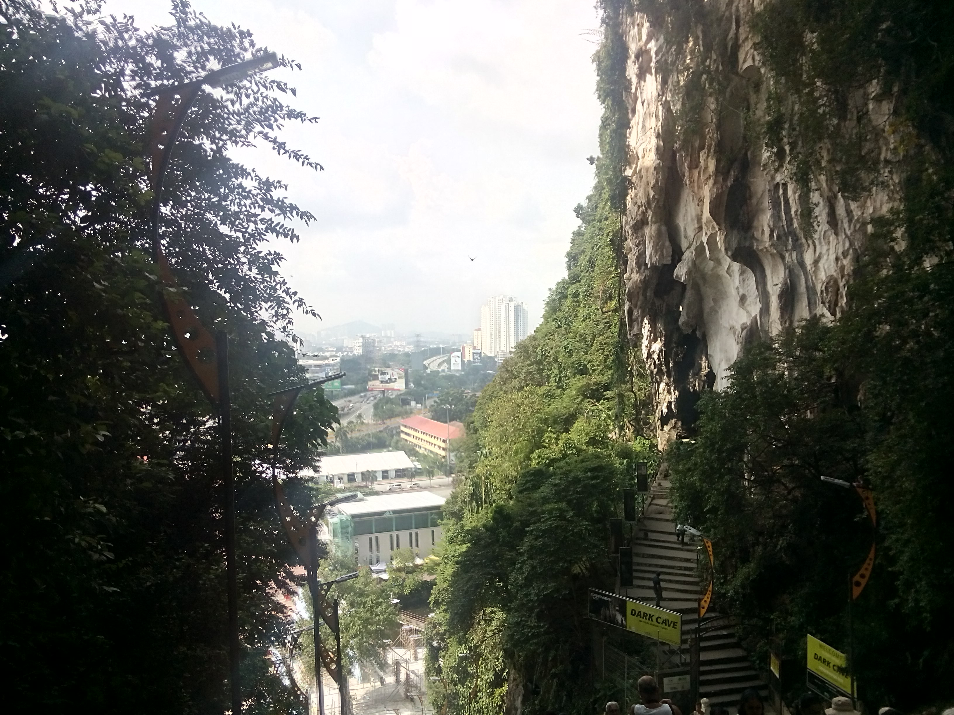 View from the stairs