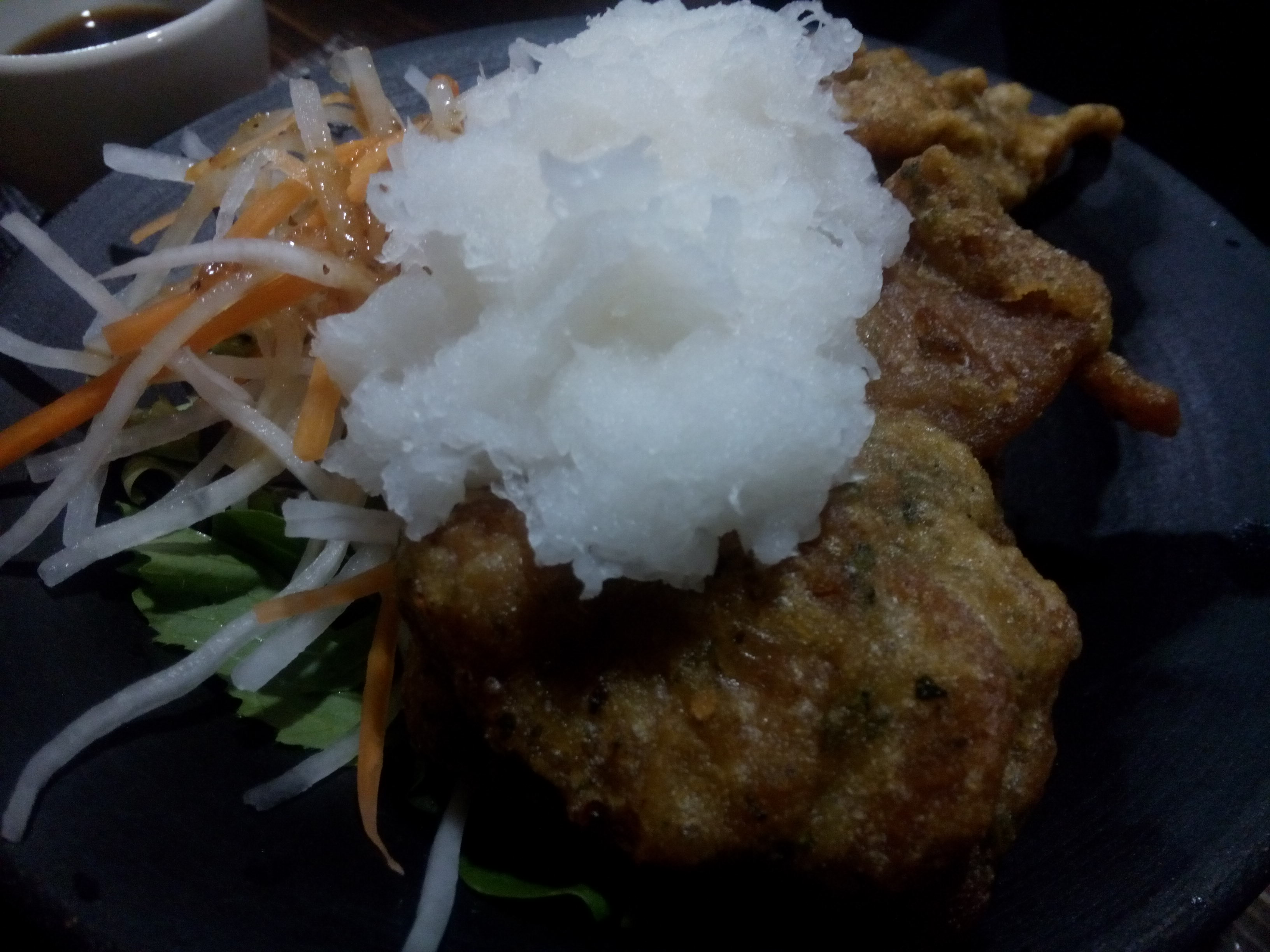 Soy meat with radish