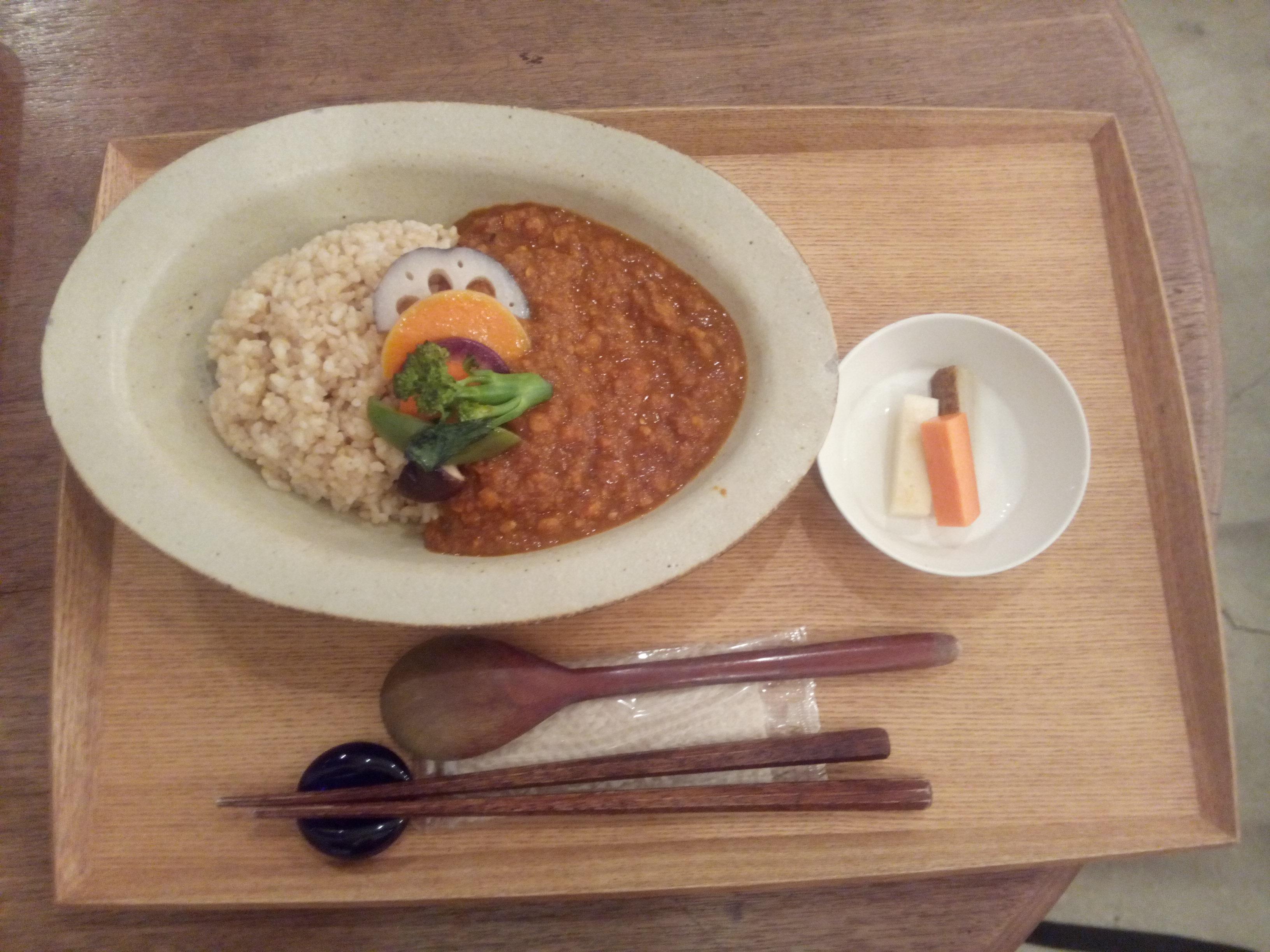 Vegetable bean curry