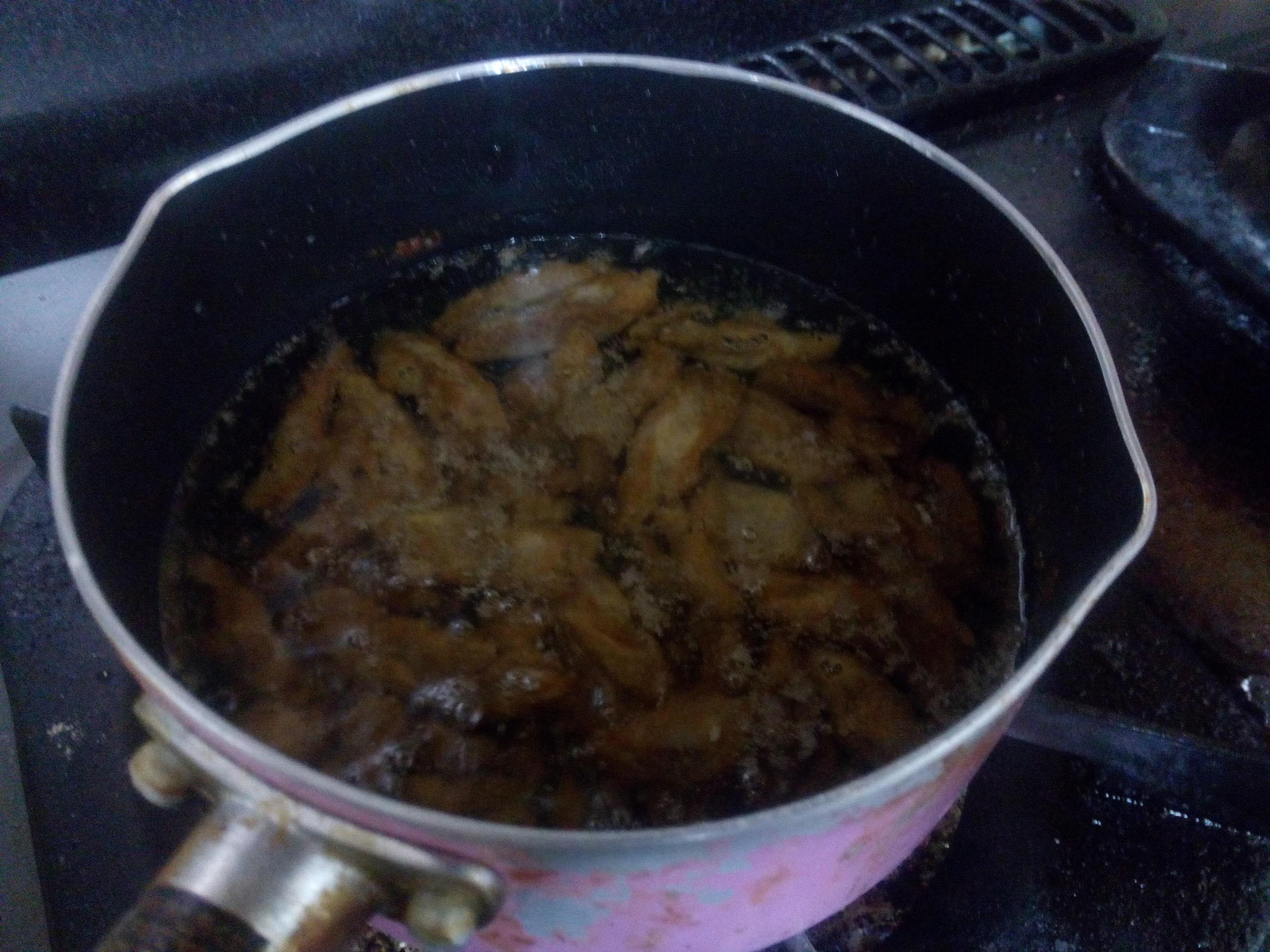Frying..