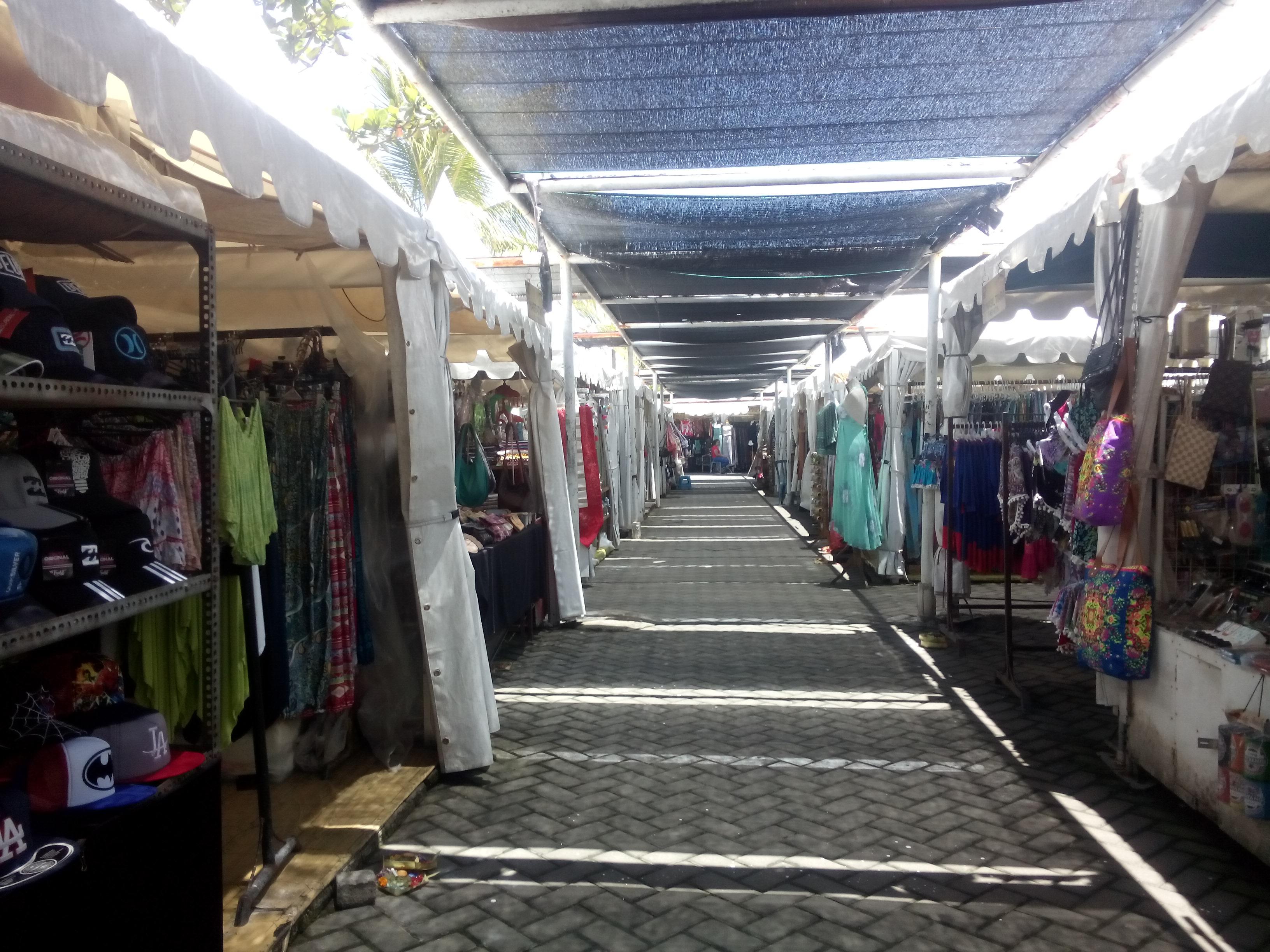 Market stalls undercover