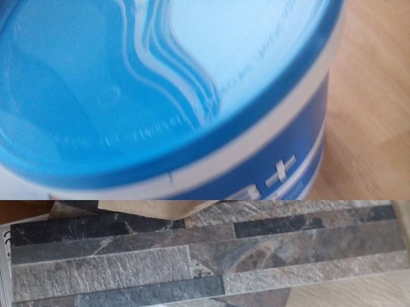 Tile adhesive and free sample (Ceramic Tile Warehouse)